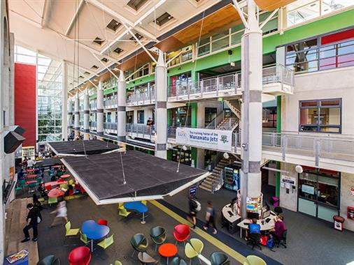 The Atrium at UCOL in Palmerston North