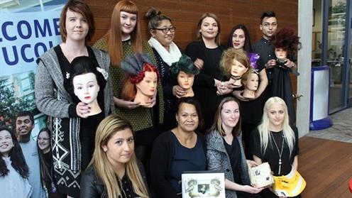 History of Hair 2016 competitors