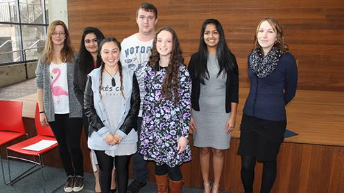 UCOL Semester One Scholarship recipients