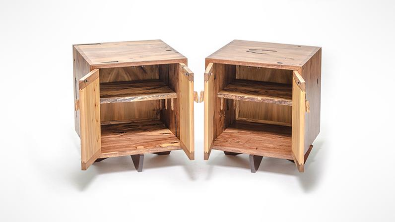 Cabinets designed and created by a UCOL student