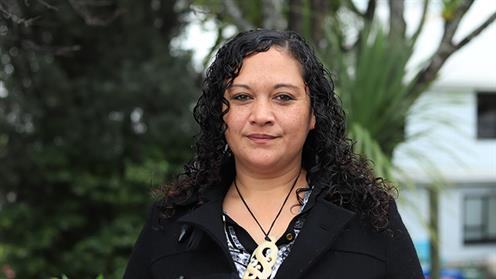 A photograph of UCOL student Suzie Masoe